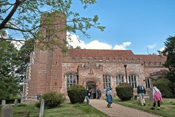 Layer Marney Church - exterior